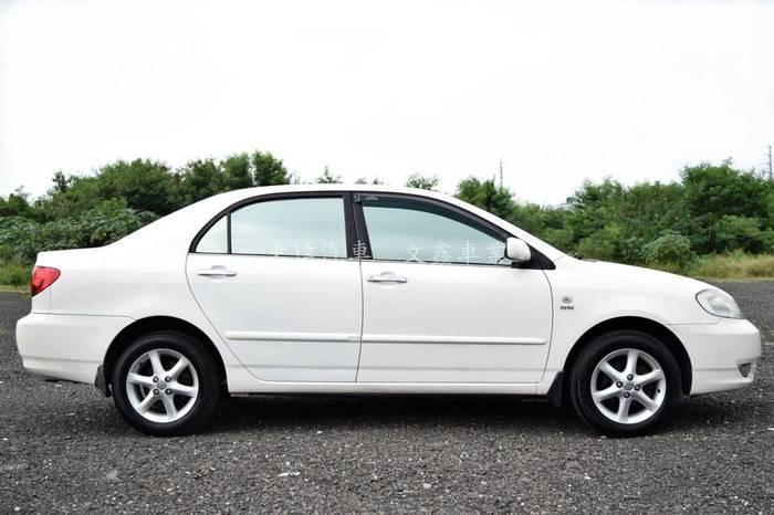 豐田 altis 2003年 字-08