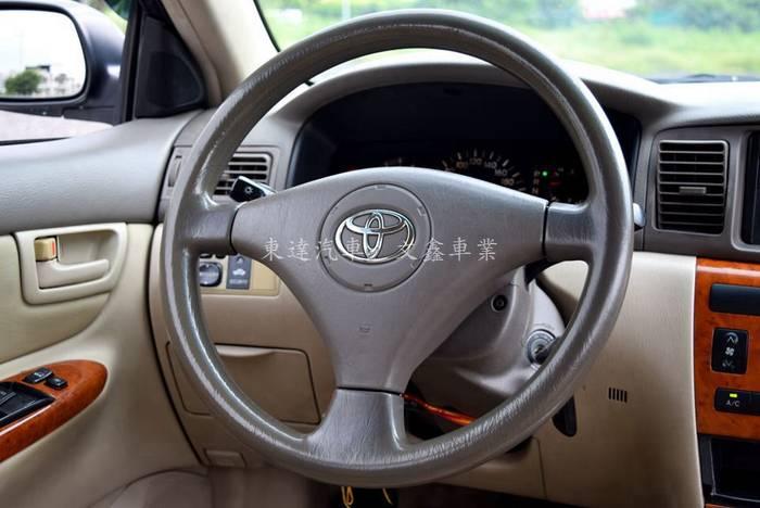 豐田 altis 2003年 字-21