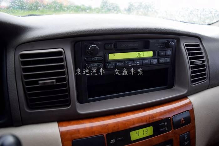 豐田 altis 2003年 字-26