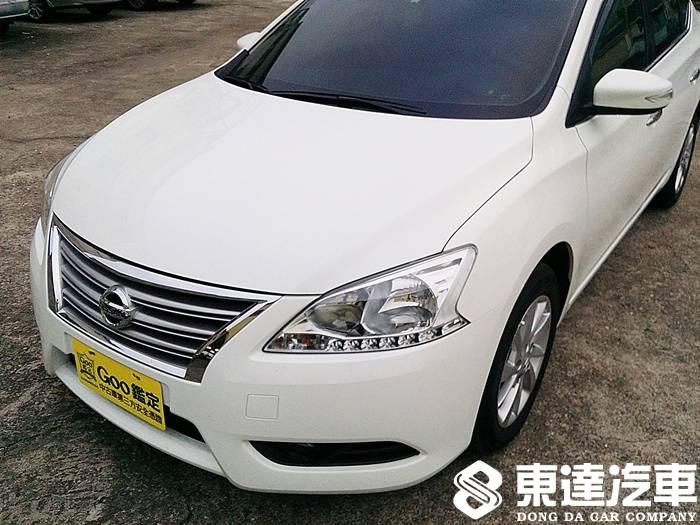 台南中古車-台南二手車-東達汽車-nissan-日產-sentra-001