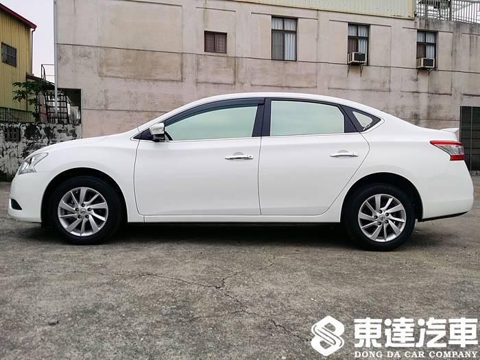 台南中古車-台南二手車-東達汽車-nissan-日產-sentra-002