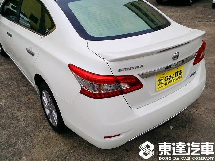 台南中古車-台南二手車-東達汽車-nissan-日產-sentra-005