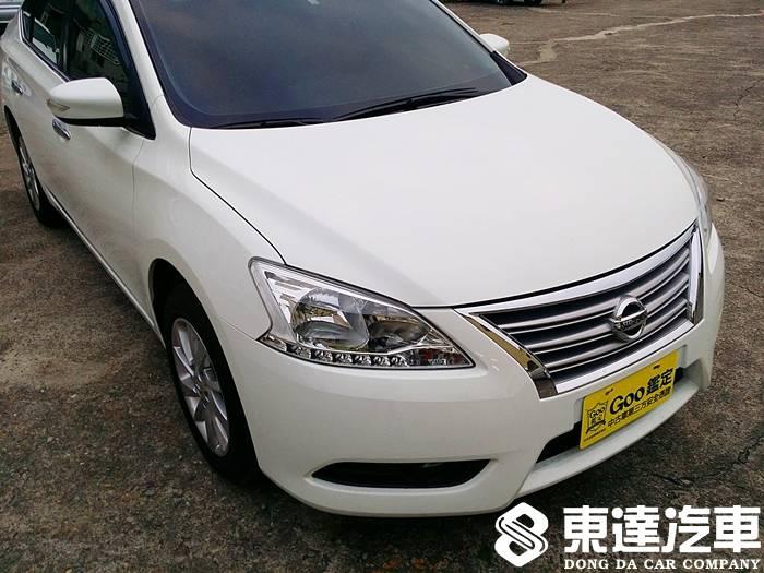 台南中古車-台南二手車-東達汽車-nissan-日產-sentra-018